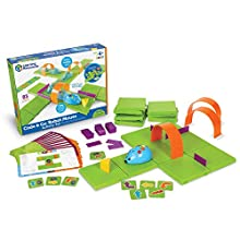 Learning Resources LER2831 STEM-Code & Go Robot Mouse Activity Set, Multicoloured