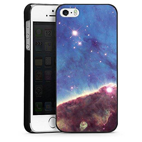 Apple iPhone 4 Housse Étui Silicone Coque Protection Brouillard Gabriela Mistral Espace Galaxie CasDur noir