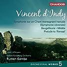 Vincent D'Indy : Oeuvres orchestrales, Volume 5 - symphonie cevenole