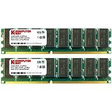 Komputerbay KB 2GB LDDDR333 KIT - Memoria RAM de 2 GB (333 MHz, PC2700, DDR333, DIMM) [Importado]