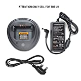 Best MOTOROLA Accessory Power Two Way Radios - Quick Fast Power Adapter Rapid Charger For Motorola Review