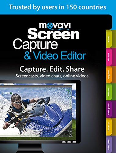 Price comparison product image Movavi Screen Capture & Video Editor 7 Personal Edition [Download]