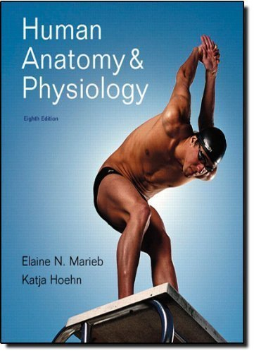 by Marieb, Elaine N., Hoehn, Katja Human Anatomy &Physiology Plus MasteringA&P with eText -- Access Card Package (8th Edition) (2010) Hardcover