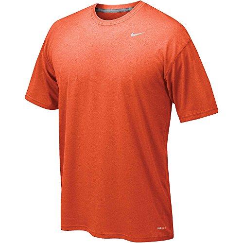 Nike Legend Poly SS Tee–Maglietta a maniche corte per uomo University Orange