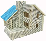 Fabrilla DIY 3D Wooden Puzzle Game Toys -HOUSE