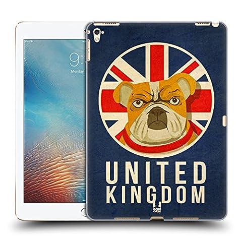 Head Case Designs Royaume-Uni Animaux Patriotiques Étui Coque D'Arrière Rigide Pour Apple iPad Pro 9.7