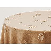Falda para Mesa Camilla Modelo DELUXE 792, Color BEIGE 701, Medida Redonda 90/233cm Ø (También Disponible en distintos Colores, Formas y Medidas)