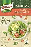Knorr Natürlich Lecker Salatdressing Erdbeere & Chili (10 x 4er-Pack)
