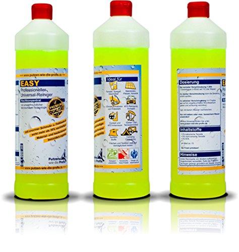 Vier Profi-Reinigungsmittel im Set | Hochkonzentrierte Reiniger für den Haushalt | Sehr ergiebig, tierversuchsfrei und umweltfreundlich - 2