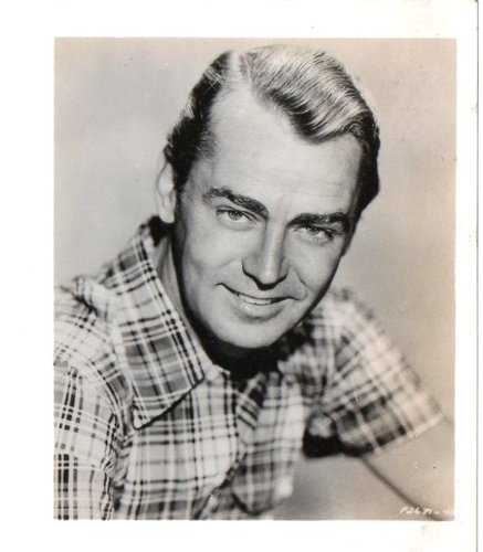 Original Photograph Alan Ladd In Black And White par