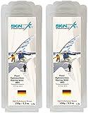 SKINSTAR Skiwachs Flour Wax Fluormix Wachs 250g
