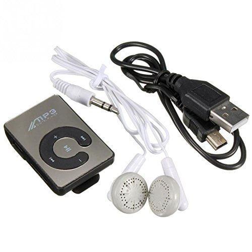 BLUTECH Mini Mp3 Player with data cable & earphone (MULTI...