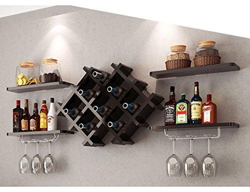 YAN JUN Moderne Weinschrank Weinregal Weinglas Halter Weinglas Rack Hängen Wand Hängenden Rack Kreative Weinregal (Farbe : C)
