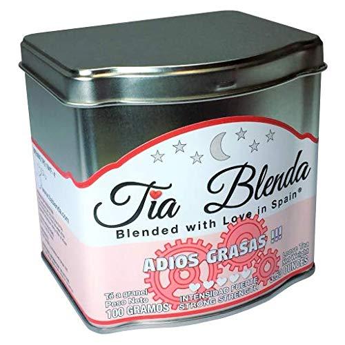 TIA BLENDA - ADIÓS GRASAS (100 g) - Té rojo Pu-erh de alta calidad