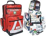 Erste Hilfe Notfallrucksack für Schulen & KITAS - Planenmaterial mit Waterstop Reißverschlüssen