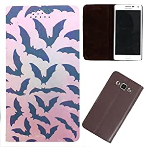 DooDa - For Sony Xperia Z3 Compact PU Leather Designer Fashionable Fancy Flip Case Cover Pouch With Smooth Inner Velvet