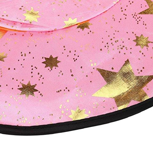 Imagen de halloween costume sannysis disfraz de halloween para niños, wizard traje y sombrero rosa  alternativa