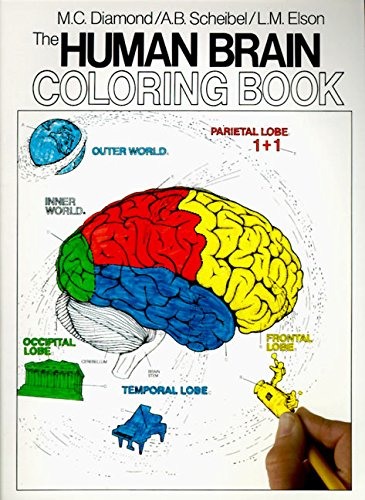 The Human Brain Coloring Book (Coloring Concepts Series) por Diamond Books