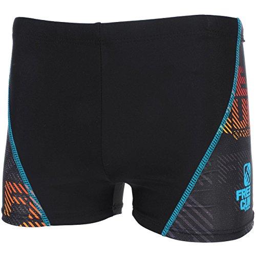 Freegun - Lek noir boxer bain - Maillot de bain boxer Noir