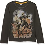 STAR WARS 161300, Camiseta para Niños, Negro Noir, 9 años