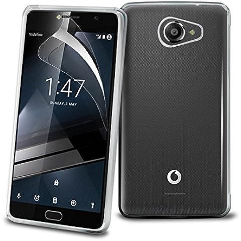 TBOC® Funda de Gel TPU Transparente para Vodafone Smart Ultra 7 de Silicona Ultrafina y Flexible