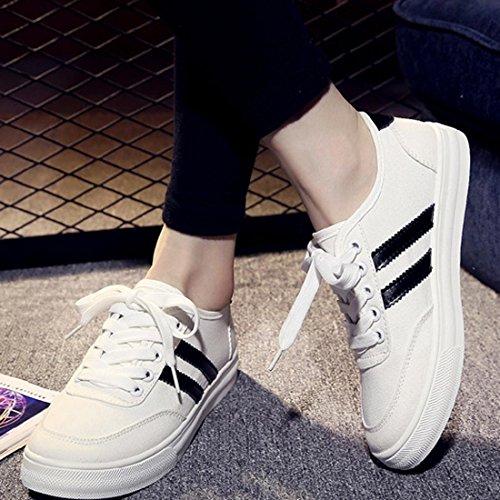 up Lace Sreifenmustern Black Modo Com E Sneakers 1 Oasap 8wFqCRx
