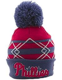0890042c295 New Era MLB Philadelphia Phillies Lic006 Beanie Kids Red OSFA (One Size  fits Any)
