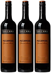 Yalumba Patchwork Barossa Shiraz 2014/2016 Wine 75 cl (Case of 3)