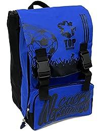 7f956e46eb Cuore Neroazzurro XM-110-04 Zaino da Scuola, Estensibile, 42 Centimetri,