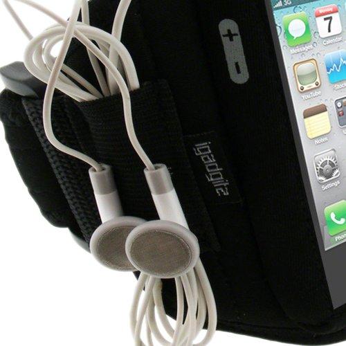 iGadgitz-Neoprene-Sports-Gym-Jogging-Armband-for-Apple-iPhone-44S-Black