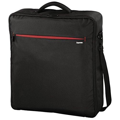 Hama Tasche für Drohne inkl. Zubehör (Universell passend für Drohnen bis 45 x 45 cm, Extra leicht, Abnehmbarer Schultergurt, Herausnehmbare Innentaschen, Drohnentasche) schwarz