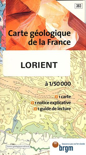 Carte géologique : Lorient par Cartes BRGM