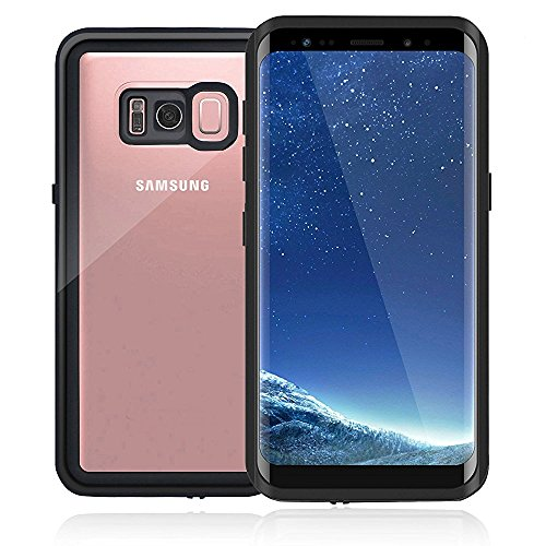Galaxy S8Wasserdicht Fall, [studstar Serie] [Slim Fit] stoßfest IP68zertifiziert Wasserdicht schmutzfest Schneedicht Fullbody Rugged Case mit integriertem Displayschutz Cove für Galaxy S8, S8 Clear -