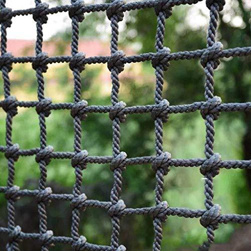 GLJJQMY Outdoor Kletternetz Balkongeländer bruchsicheres Netz Kinder Outdoor Kletterschutz Netz Sicherheitsnetz, 1x3m