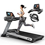 "Sportstech F75 High-End Laufband mit großer Lauffläche 580x1600mm, Android 15,6"" Display, WiFi,..."