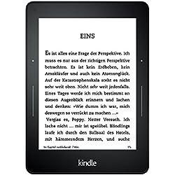 Kindle Voyage eReader, 15,2 cm (6 Zoll) hochauflösendes Display (300 ppi) mit integriertem intelligenten Frontlicht, PagePress-Sensoren, WLAN