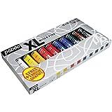 Pebeo Studio XL - Kit de pinturas al óleo con pincel (200 ml, 10 unidades), varios colores