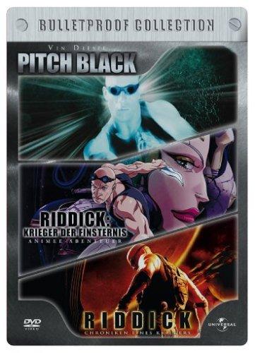 Preisvergleich Produktbild Pitch Black/Riddick/Riddick Animated (Limited Edition, Steelbook) [3 DVDs]