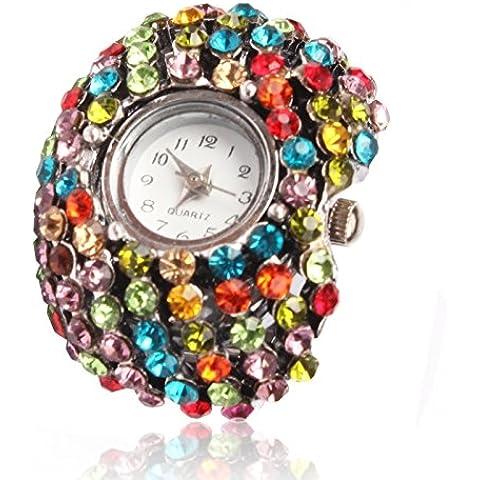 SUNSKY Diamante di colore alla moda dell'anello
