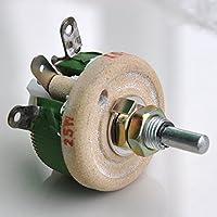 Electrónica-salón 25 W 50 OHM leddirect bobinadas potenciómetro, reostato, resistor Variable.