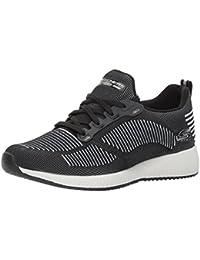 Skechers Bobs Swift-Strobe Light, Zapatillas para Mujer, Negro (Black), 40 EU