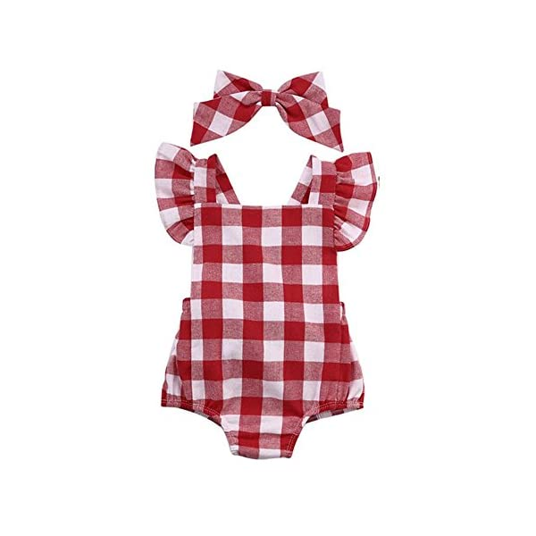 FAMILIZO Mameluco, Bebé ReciéN Nacido AlgodóN Bowknot Ropa Conjunto Traje Mono Traje Set Romper 1