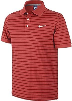 Hombres Nike MATCHUP Mini Stripe para hombre Polo talla S print