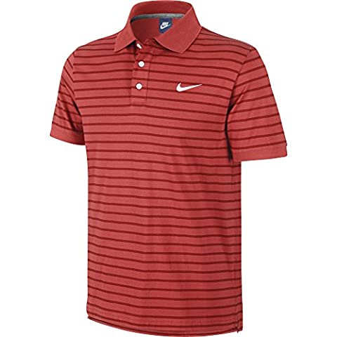 Matchup mini print pour homme men's nike polo à rayures taille s