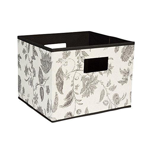 Haushalt Essentials 620Open Lagerplatz mit Ausschnitt Griffe (Leinwand-storage-würfel)