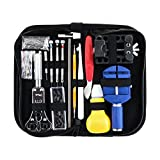 #9: OUNONA 147pcs Watch Repair Kit Watch Tool kit Watch Repair Tools Watch Battery Replacement kit