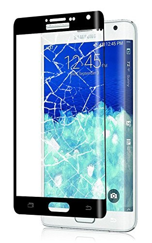 Trocent TSD8524 Displayschutzfolie, Note Edge, schwarz - Note Galaxy Edge Extended Akku