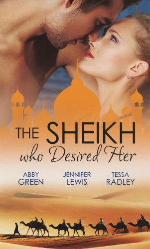 book cover of The Sheikh Who Desired Her