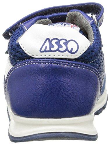 Asso 46102 Jungen Sneaker Blau - Bleu (Ming)