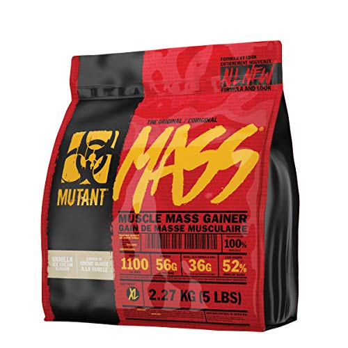 Mutant Mass - Vanilla - 2200g, 1er Pack (1 x 2.2 kg)